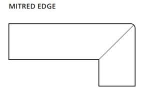 Mitred Edge