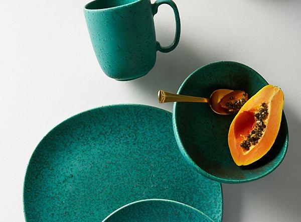 Zoysia glazed stoneware collection