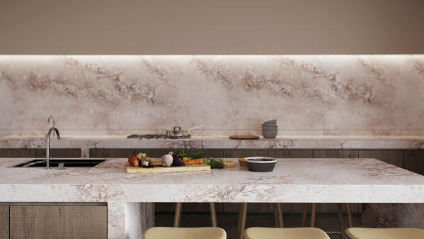 4046 Excava quartz kitchen worktop